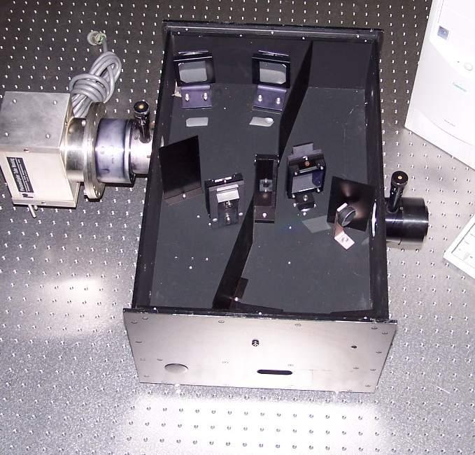 Emission Control Lamp >> Jobin Yvon Spex 1680B Monochromator Spectrograph