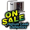 Helium Leak Detectors On Sale